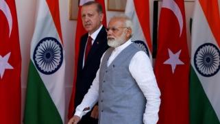 الهند تستدعي السفير التركي للاحتجاج على تصريحات أردوغان بشأن كشمير
