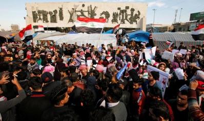 تواصل الاحتجاجات في العراق والتشكيلة الحكومية الجديدة تعلن الأحد