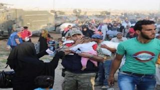 """الاتحاد الأوروبي """"قلق"""" من تدفق النازحين السوريين من تركيا"""