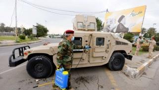 """عدوّ إيران """"متواطئ"""" مع حلفائها في العراق"""