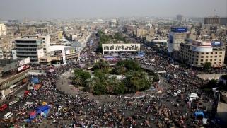 تجدد المظاهرات في العراق مع استعداد البرلمان للتصويت على حكومة علاوي