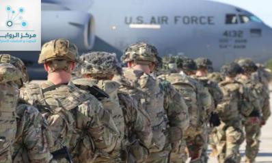 عن تموضع القوات الامريكية في العراق