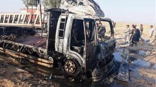 بعد قصف معسكر للتحالف.. توعد أميركي بريطاني و26 قتيلا لفصائل عراقية بغارة