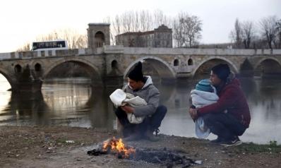 نازحون من جحيم حرب إدلب إلى مأساة حدود أوروبا