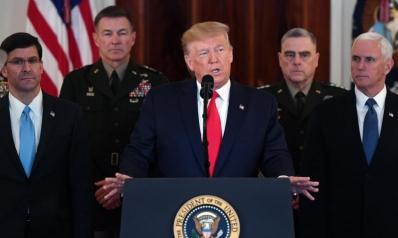 """الولايات المتحدة… عين على """" كورونا"""" وأخرى على إيران"""