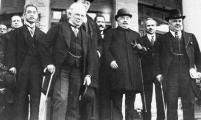 """مؤتمر """"سان ريمو"""" لا اتفاقية """"سايكس بيكو"""".. هكذا تقاسمت فرنسا وبريطانيا كعكة الشرق الأوسط قبل مئة عام"""