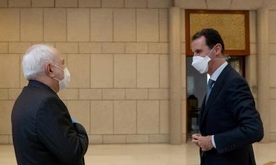 """الأسد يستقبل ظريف في دمشق و""""طباخ الكرملين"""" متوتر"""