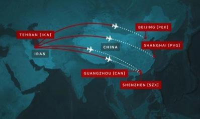 تحقيق يكشف تورط شركة طيران إيرانية في نشر «كوفيد-19» بالشرق الأوسط