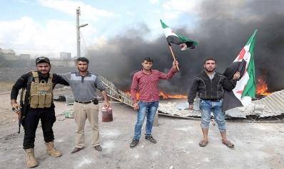 الحرائق السورية