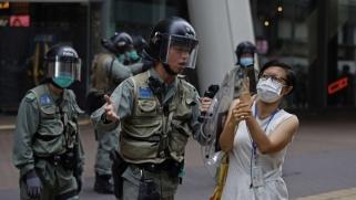 الصين تهدد بهجمات مضادة ضد واشنطن بشأن هونغ كونغ
