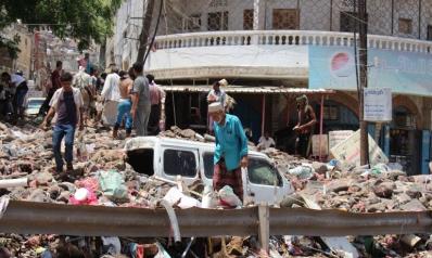 اليمن.. احتجاجات بعدن على تردي الأوضاع والسيول تخلف قتلى بحضرموت