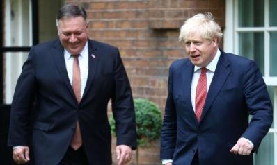 بومبيو يبحث عن تقارب أوسع مع لندن على وقع التوتر مع بكين