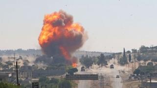 إصابة جنود أتراك وروس أثناء دورية مشتركة في إدلب