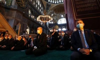 بالصلاة في آيا صوفيا.. أردوغان يحقق حلما عزيزا طالما راوده