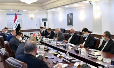 جدل سياسي متواصل حول جدول لقاءات وزير الخارجية الإيراني خلال زيارته العراق