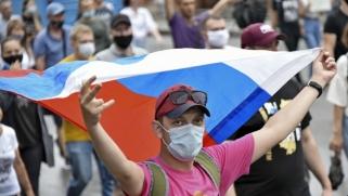 تظاهرات حاشدة في الشرق الروسي تحرج الكرملين