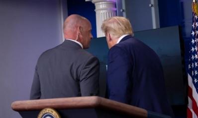 إطلاق نار خارج البيت الأبيض يجبر ترامب على قطع مؤتمره الصحفي