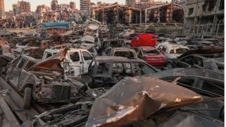 الكمية تعادل وزن برج إيفل.. إزالة آلاف الأطنان من الأنقاض بمرفأ بيروت