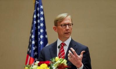 استقالة براين هوك من منصبه كمبعوث لإيران