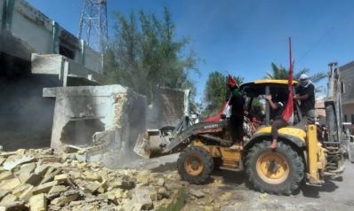 هدم وحرق مقار للميليشيات جنوب العراق ردا على اغتيال نشطاء