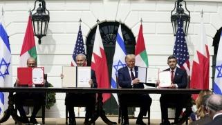 اتفاق سلام تاريخي بين الإمارات والبحرين وإسرائيل