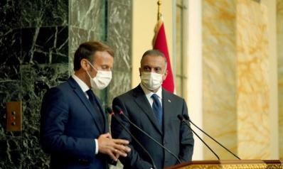 تقارب الكاظمي مع باريس يزعج الأتراك