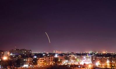 النظام السوري يعلن تصديه لهجوم صاروخي إسرائيلي على مدينة حلب
