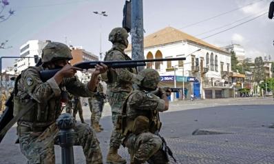 مقتل أربعة عسكريين لبنانيين أثناء مطاردة متشدد إسلامي
