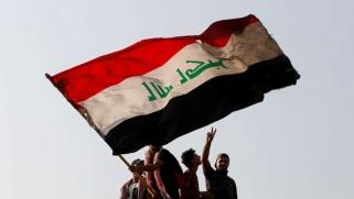 العراقيون يتمسكون بمطالبهم في الذكرى الأولى لانتفاضة أكتوبر
