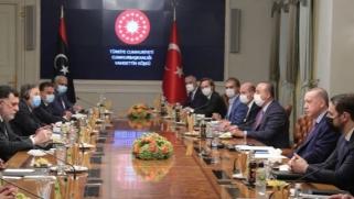 أردوغان يلتقي السراج بإسطنبول وقالن يدلي بتصريحات عن مستقبل الدعم العسكري لليبيا