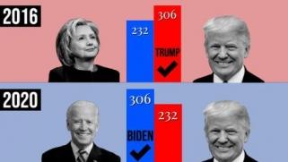 انتخابات أميركا.. مظاهرات مرتقبة لأنصار ترامب ووسائل إعلام تحسم فوز بايدن بجورجيا