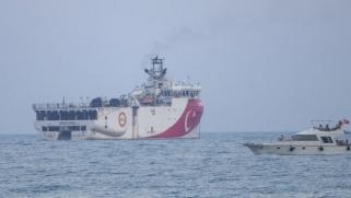 تركيا تمدد مهمة سفينة عروج ريس بشرق المتوسط