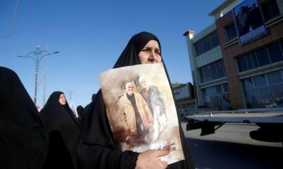 """ضريح لسليماني في مطار بغداد جديد """"عراق الأضرحة"""""""