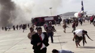 الحوثيون يهاجمون مطار عدن لعرقلة اتفاق الرياض