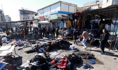 قوبل بإدانات محلية ودولية.. ارتفاع قتلى التفجير الدامي ببغداد وتأهب أمني بمحيط المنطقة الخضراء