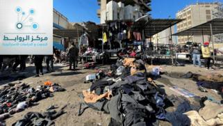 عن تفجير داعش الارهابي..