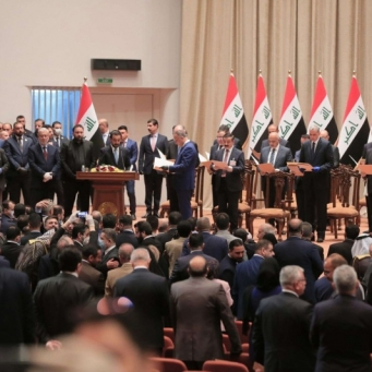 Constitutional amendments in Iraq include reducing the number of representatives