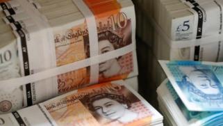 اقتصاد بريطانيا يتكبد تراجعا قياسيا يقترب من 10 بالمائة عام 2020