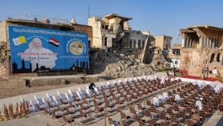بعد النجف وأور.. البابا يلتقي مسيحيي شمال العراق