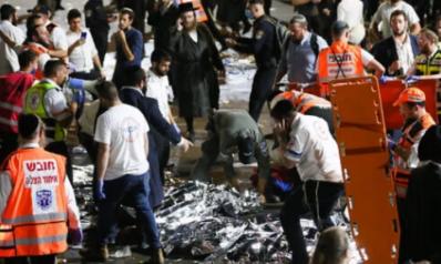 إسرائيل.. 44 قتيلا و150 جريحا بانهيار جسر أثناء مهرجان يهودي على جبل الجرمق