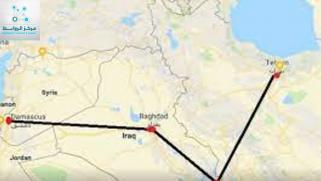 إيران والربط السككي المشروع التوسعي عبر العراق وسوريا وصولا الى المتوسط