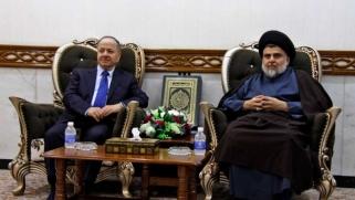 تقارب سياسي بين التيار الصدري وقيادة كردستان العراق استعدادا للانتخابات المبكرة