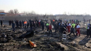أوكرانيا ترفض عرضاً إيرانياً لدفع 150 ألف دولار لأسرة كل ضحية في حادث الطائرة