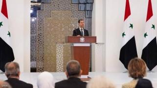 الأسد يؤدي اليمين.. ويتحدث عن الأموال السورية المجمدة بلبنان