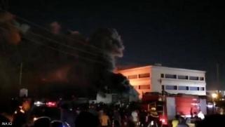 ارتفاع عدد ضحايا حريق مستشفى كورونا في ذي قار العراقية