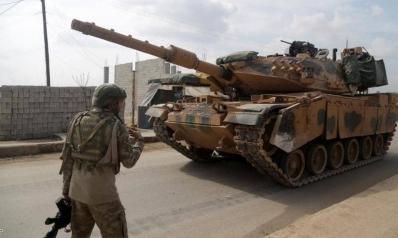 مقتل جنديين تركيين وإصابة اثنين آخرين بهجوم شمالي سوريا