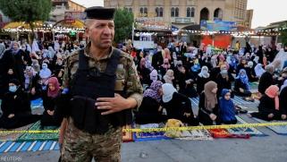 """""""عيد حزين"""" في بغداد غداة الهجوم الإرهابي"""