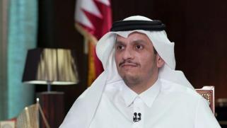 وزير خارجية قطر يزور بيروت في إطار مساعي حل الأزمة السياسية بلبنان