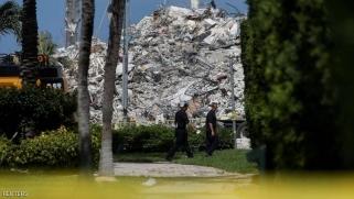 """ارتفاع حصيلة ضحايا انهيار """"برج ميامي"""" في فلوريدا"""