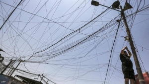 The war on electricity towers continues in Iraq.. and citizens - enough is enough